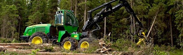 Maquinaria forestales