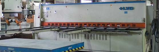 Metallblechbearbeitung