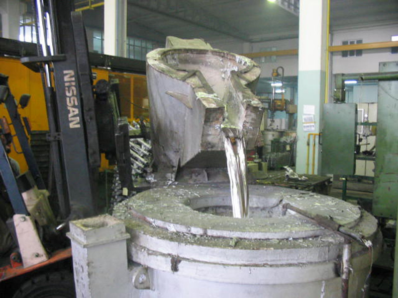Lití hliníku pod tlakem