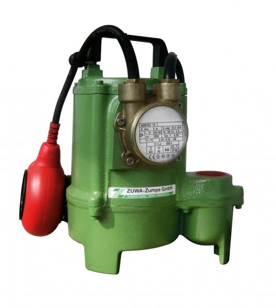 Bombas sumergibles para agua sucia / ZUWA-Zumpe GmbH