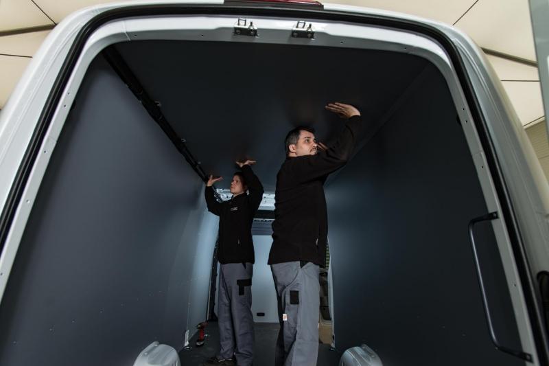 Equipamiento del interior del auto, carro