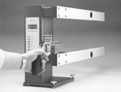 جهاز قياس سرعة القذف