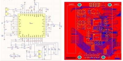 Desenvolvimento de placas condutoras