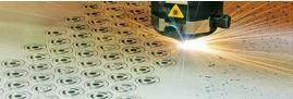 Laserem nařezané díly
