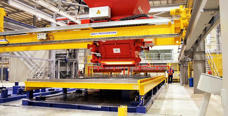 Máquinas para materiales de construcción