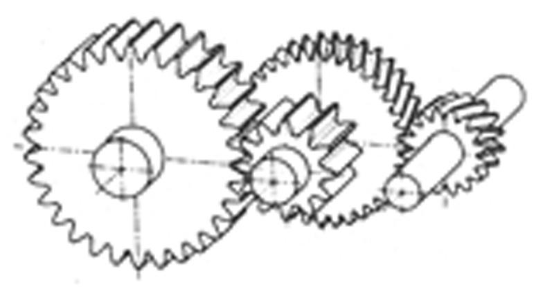 Ingranaggi a ruote dentate cilindriche