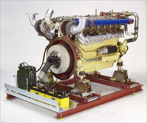 Sujeciones del motor