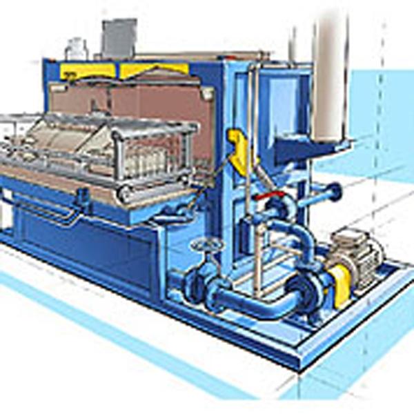 Installation de nettoyage industriel