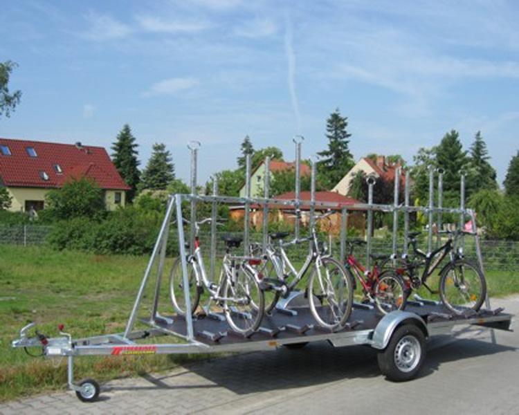 Przyczepy do przewozu rowerów