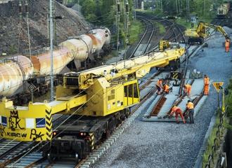 Railway cranes / KIROW ARDELT AG