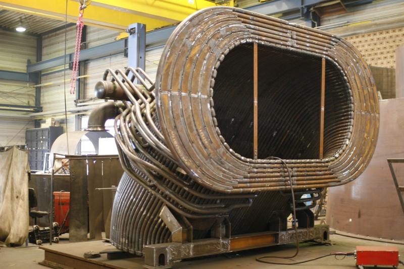 Sistemi di raffreddamento gas di scarico