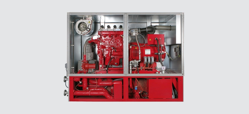 Centrales thermiques en montage-bloc