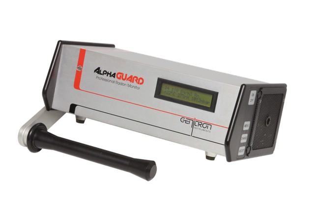 Aparatos de medición de radones