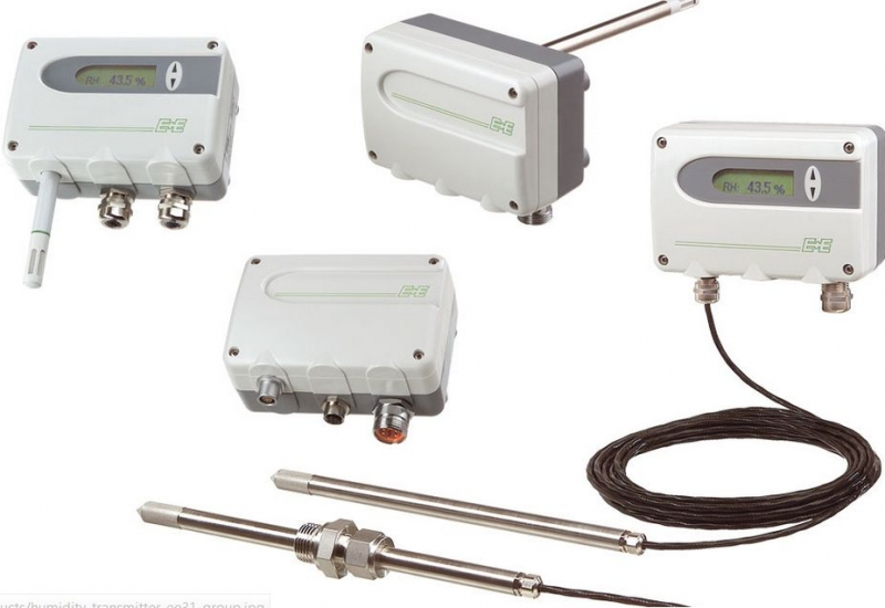 Sensores de medición de la humedad