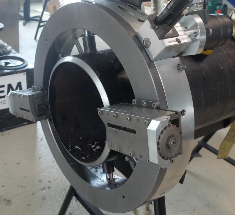 Orbitales Rohrtrennen und Anfasen - TTNG 508